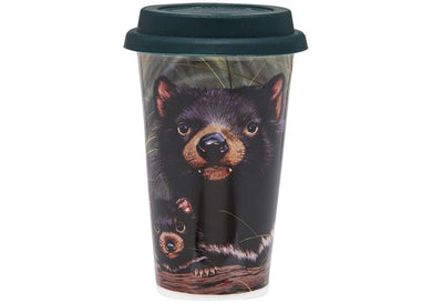 Fauna of Aus Tasmanian Devils Travel Mug