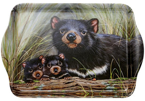 Fauna of Aus Tasmanian Devils Scatter Tray
