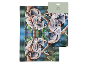 Fauna of Aus Koala & Wren Kitchen Towel
