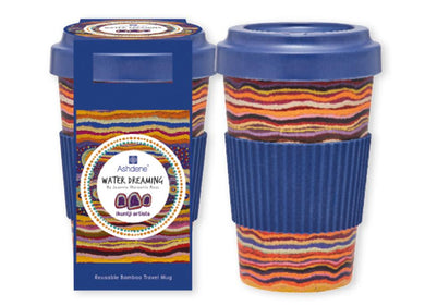 Ikuntji Water Dreaming Bamboo Travel Mug