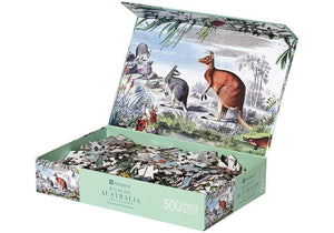 Wildlife Australia Grasslands 500 Piece Puzzle