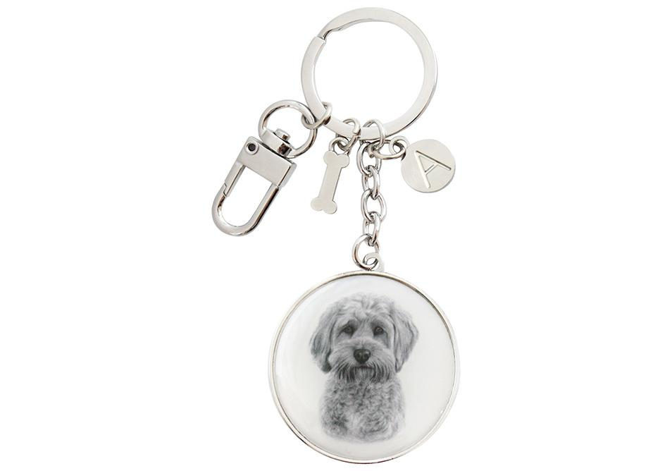 Delightful Dogs Cavoodle Keyring