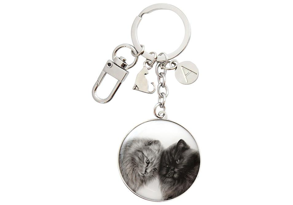 Feline Friends Bonding Buddies Keyring