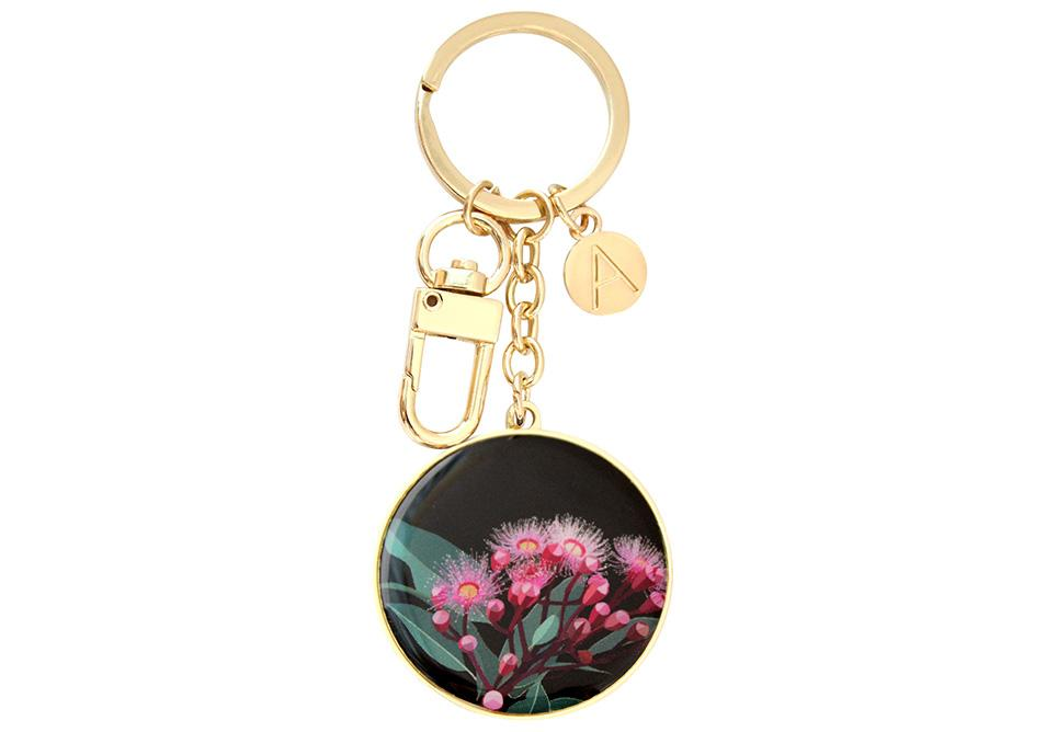 Native Grace Blue Gum Keyring
