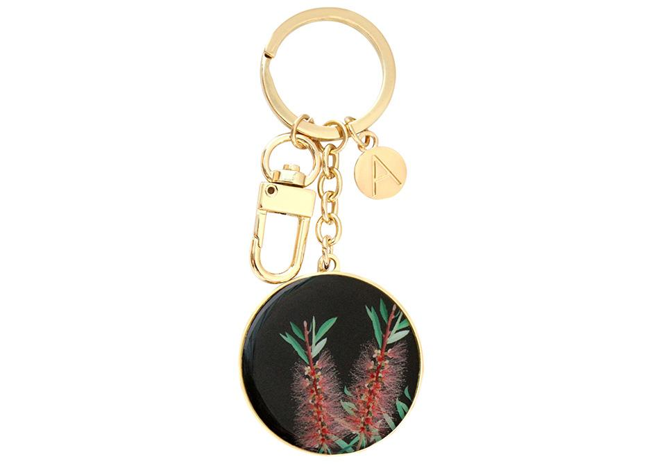 Native Grace Bottlebrush Keyring