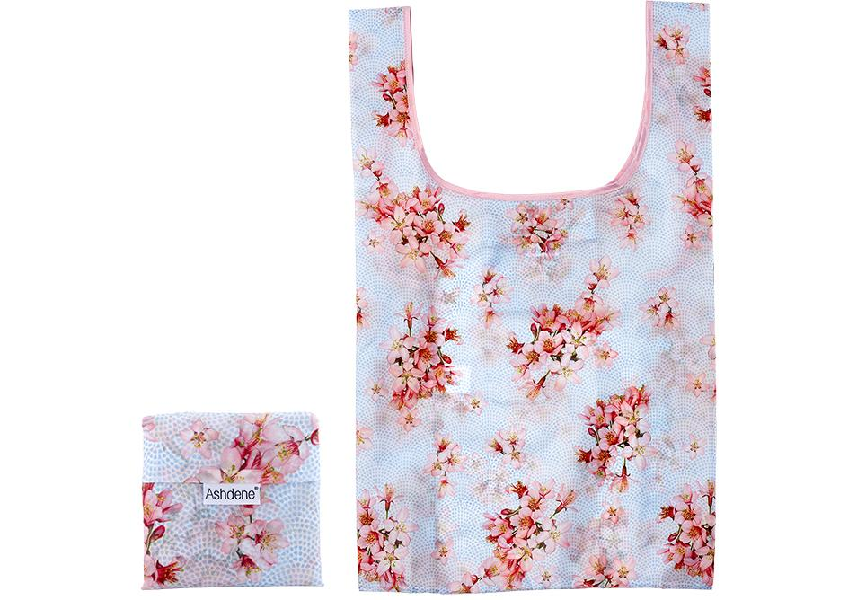 Cherry Blossom Shopping Bag