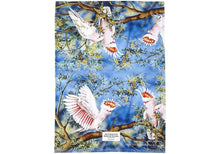 Load image into Gallery viewer, Aus Bird & Flora Major Mitchell Kitchen Towel