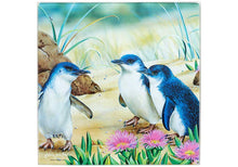 Load image into Gallery viewer, Aus Bird & Flora Penguin Trivet