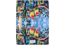 Load image into Gallery viewer, Aus Bird & Flora Rosella & Banksia Kitchen Towel