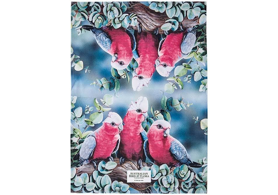 Aus Bird & Flora Galah Kitchen Towel