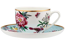 Load image into Gallery viewer, Jardin Peony Cup & Saucer