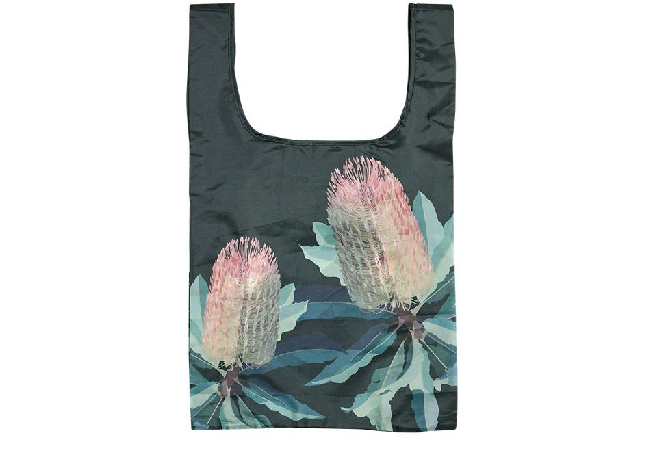 Native Grace Banksia Shopping Bag