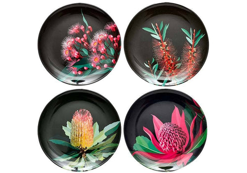 Native Grace Assorted Plate Set Of 4