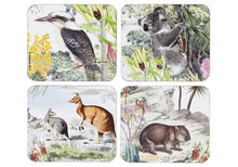 Load image into Gallery viewer, Wildlife Australia 4pk Coaster