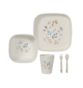 Coffret repas bambou Spring flowers