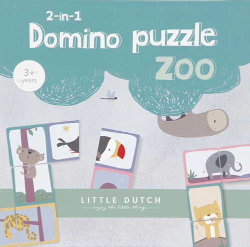 Puzzle Dominos Zoo