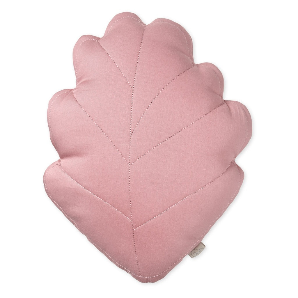 Coussin Feuille Rose