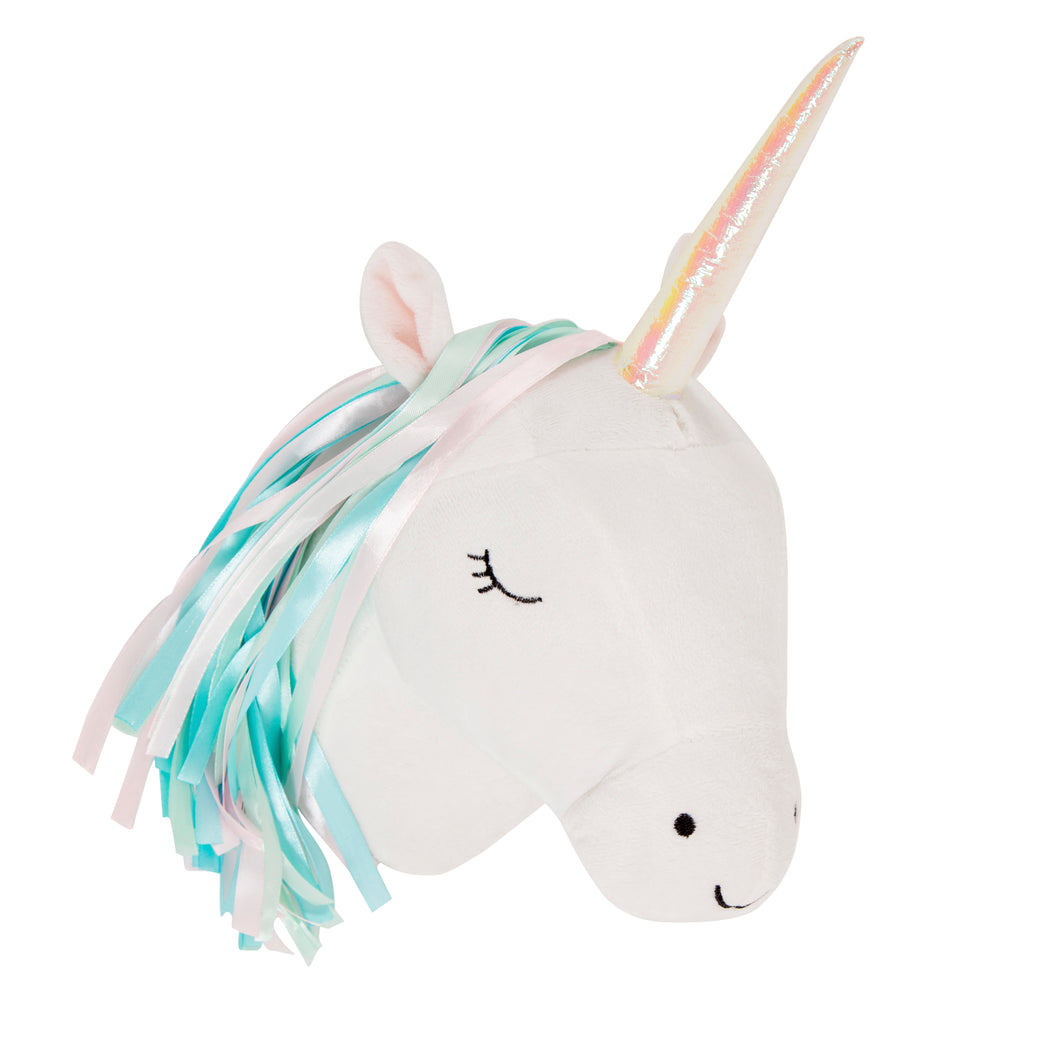 Tête Betty la licorne décorative