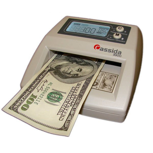 Cassida 3300 Counterfeit Detection Scanner