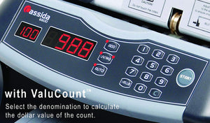 UV/MG Business Grade Currency Counter & Counterfeit Detector