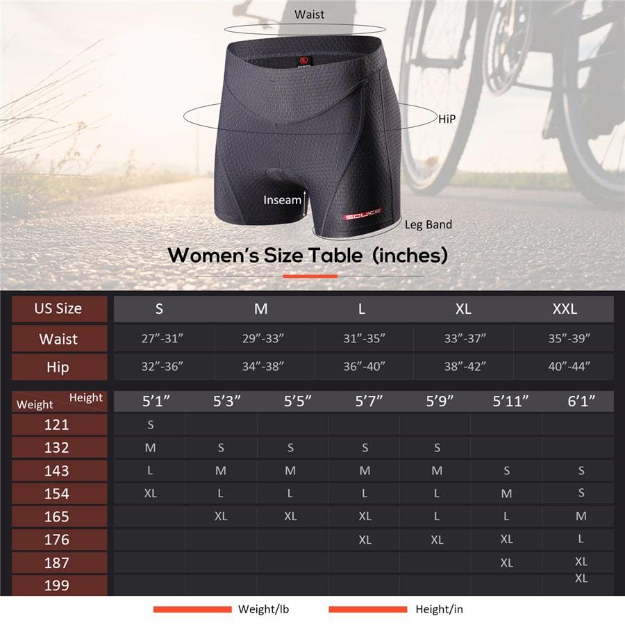Souke Sports Women's Eco-Daily 3D Padded Cycling Shorts-PS6011-Grey