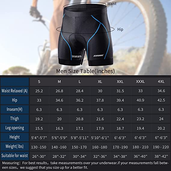 souke sports, size guide, PS6016 SIZE GUIDE,