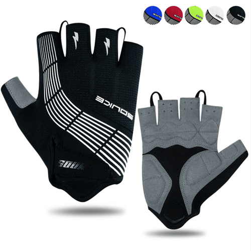 souke sports, souke ST1901,cycling accessories, riding accessories, cycling gloves, half finger cycling gloves, bicycle gloves for men and women, road bike cycling gloves, black cycling gloves, cycling gloves padded, padded cycling gloves for men and women,