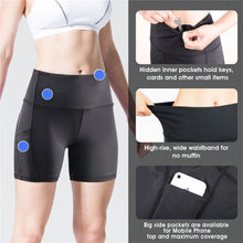 Load image into Gallery viewer, SOUKE SPORTS, SOUKE, SOUKE YS0301, SOUKE SPORTS YOGA PANTS, HIGH WAIST YOGA PANTS, BLACK YOGA PANTS, SOFT YOTA PANTS, COMFORTABLE YOGA PANTS, YOGA PANTS WITH POCKETS, HIGH ELASTIC YOGA PANTS, YOGA PANTS FOR WOMEN, SPORTS WEAR, DAILY WEAR YOGA PANTS, YOGA SHORTS, BEATHABLE YOGA SHORT PANTS, GYM WEAR
