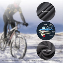 Load image into Gallery viewer, souke sports, souke, souke sports pl8060, cycling trousers, waterproof trousers, windproof feece trousers, hiking trousers, running trousers, running pants for winter, hiking pants for men, men's cycling pants for winter, fleece cycling pants for winter, waterproof cycling pants,
