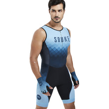 Load image into Gallery viewer, Souke Sports Men's breathable quick dry Max  SL Cycling Skinsuit