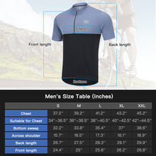 Load image into Gallery viewer, Souke Sports, Souke, Souke CS2011 Cycling Jersey, Souke CS2011  BIKE Jersey, cycling jersey, cycle gear, cycling clothing, bike clothing, cycling apparel,  grey and black cycling jersey, cycling jersey for men, short sleeve cycling jersey, cycling jersey for summer, breathable cycling jersey, quick dry bike jersey, cycling jersey with pockets, daily wear cycling jersey, best affordable cycling jersey,