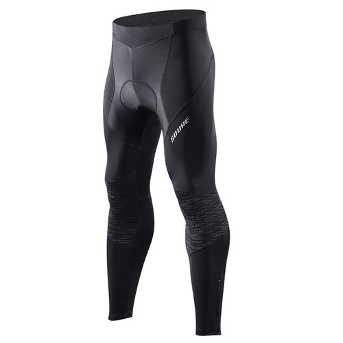 reflective cycling legging, souke sports, souke, souke sports PL8055, men's cycling legging for winter, black cycling legging for men, cycling pants, bicycle pants for men, cycling pants padded for men, black biking pants for winter, bike padded trousers, quick dry cycling legging, breathable cycling pants for men. bike gear, cycling wear, cycling clothing, bike clothing,