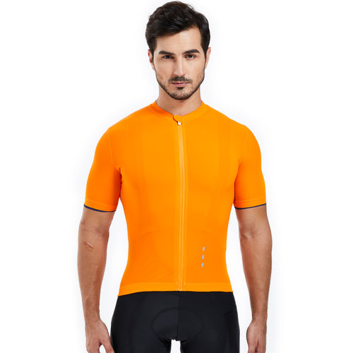 Souke Sports, Souke, Hi-Race Jersey, Souke Hi-Race Jersey, cycling jersey, cycle gear, cycling clothing, bike clothing, cycling apparel,  orange cycling jersey, cycling jersey for men, short sleeve cycling jersey, cycling jersey for summer, breathable cycling jersey, quick dry bike jersey, cycling jersey with pockets, high quality cycling jersey, best affordable cycling jersey,