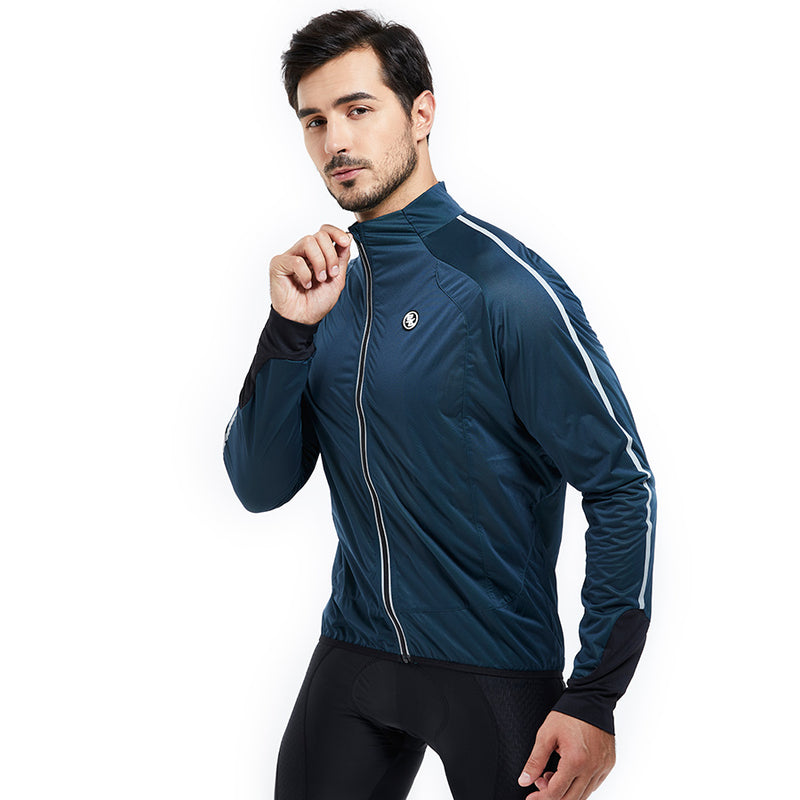Souke Sports, Souke, cycle gear, cycling clothing, cycling apparel, bike clothing, cycling jacket, cycling protection jackets, dark blue cycling jackets, men's bike jackets, windproof cycling jackets, water proof cycling jacket, biking jackets for men, bike protection jackets for men