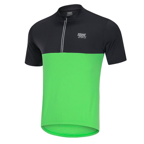 Souke Sports, Souke, Souke CS2011 Cycling Jersey, Souke CS2011  BIKE Jersey, cycling jersey, cycle gear, cycling clothing, bike clothing, cycling apparel,  green and black cycling jersey, cycling jersey for men, short sleeve cycling jersey, cycling jersey for summer, breathable cycling jersey, quick dry bike jersey, cycling jersey with pockets, daily wear cycling jersey, best affordable cycling jersey,