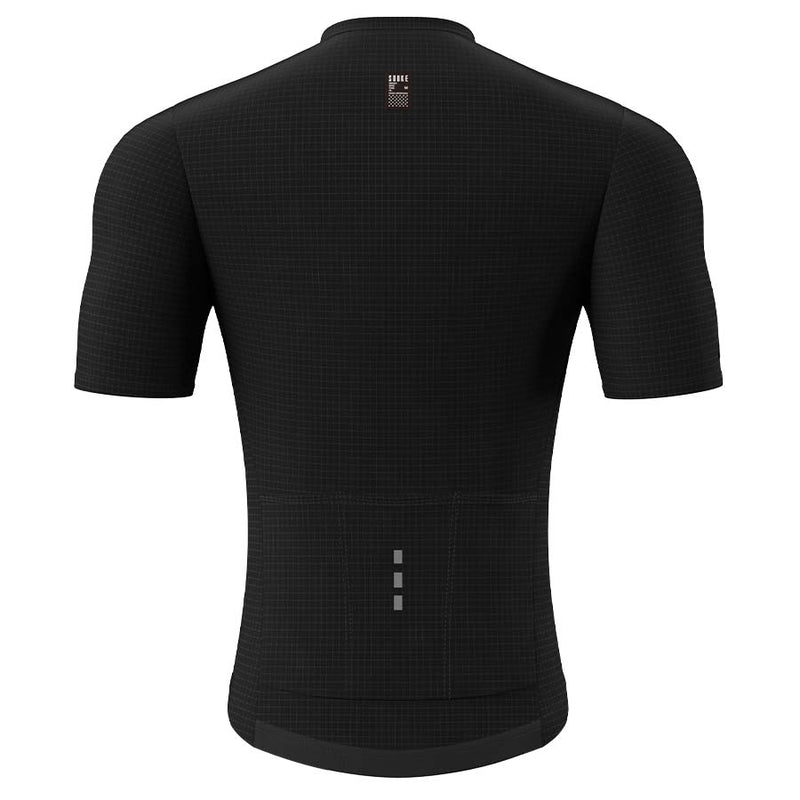 Souke Men's Pro Cycling Kit CS1101 Black + BS1606 Black
