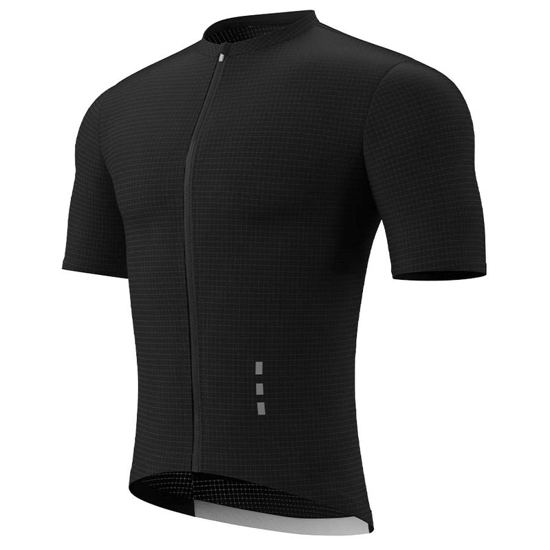 Suéteres tipo masculino de hi Race Quick Dry Cycling pro, muy confortable, hrmp05sj, azul oscuro.