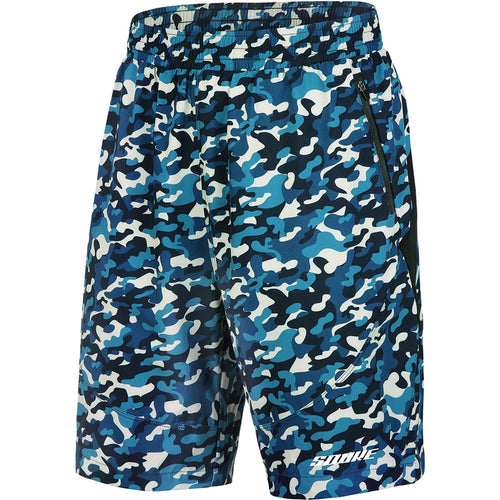 Souke Sports, Souke, Souke PS3109, Souke Sports PS3109, Running shorts, sports wear, sports gear, men's shorts for running, quick dry running shorts formen, blue camouflage running shorts, daily wear shorts for summer, men's daily wear shorts for summer,