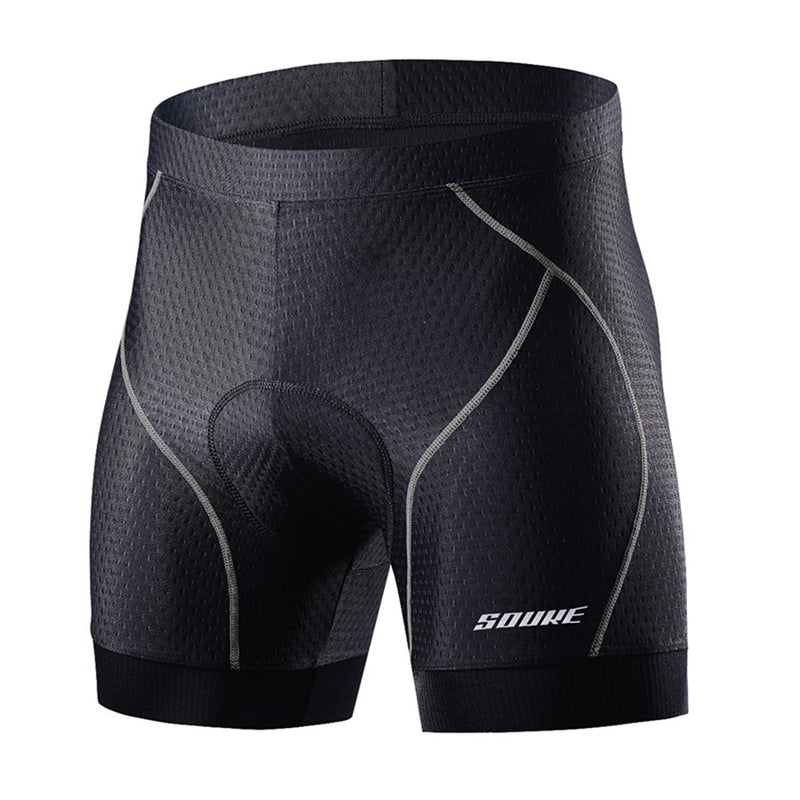 Souke sports, souke, cycling clothing, cycle gear, bike clothing, bike gear, cycling underwear, cycling shorts, cycling knickers, cycling underwear with pad for men, men' padded cycling underwear, black and grey cycling underwear, souke sports PS6018, SOUKE PS6018,