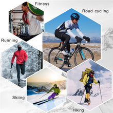 Load image into Gallery viewer, souke sports, souke ST1902, cycling accessories, riding accessories, cycling gloves, FULL finger cycling gloves, bicycle gloves for men and women, road bike cycling gloves, black and red cycling gloves, cycling gloves padded, padded cycling gloves for men and women,