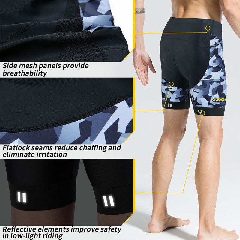 souke sports, souke mens bike shorts, cycling shorts, souke cycling shorts, souke bike shorts, souke PS6022, black cycling shorts, camouflage cycling shorts, quick dry cycling shorts, cycling clothing, cycling wear, bicycle wear, bike gear, bike clothing, cycling apparel, mens cycling shorts. mens cycling shorts for summer