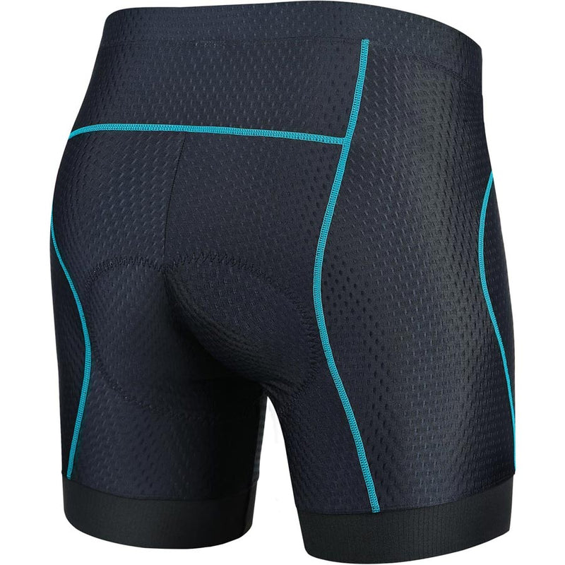 Souke Sports Women's Quick Dry Cycling Underwear-PS6013-Blue