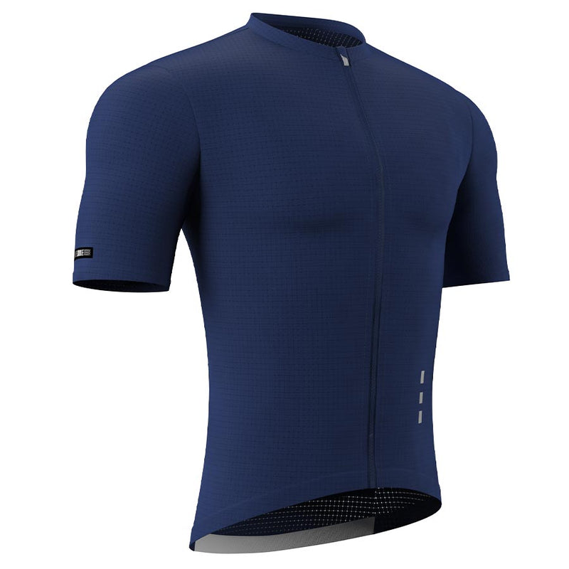Souke Men's Pro Cycling Kit CS1101 Dark Blue + BS1606 Black