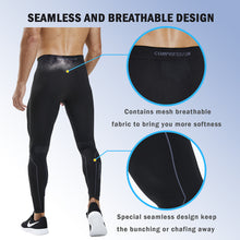 Load image into Gallery viewer, Souke Sports Men's Compression Pants, Cool Dry Long Base Layer Leggings, Sport Fitness Underwear Tights-Black