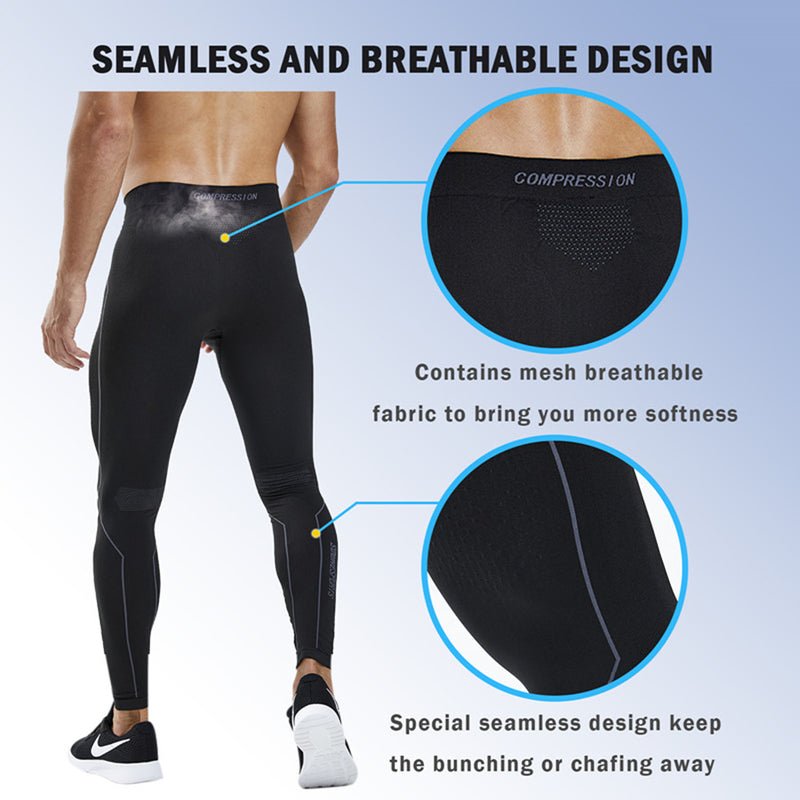 Souke Sports, souke sports compression legging, compression pants, high elastic compression pants, sports wear, sports gear, running legging, quick dry legging, sports fitness underwear tights, sports tights, black compression pants, black compression legging, black compression trousers, Souke Sports ACM2011T, compression pants for men, men's compression legging,
