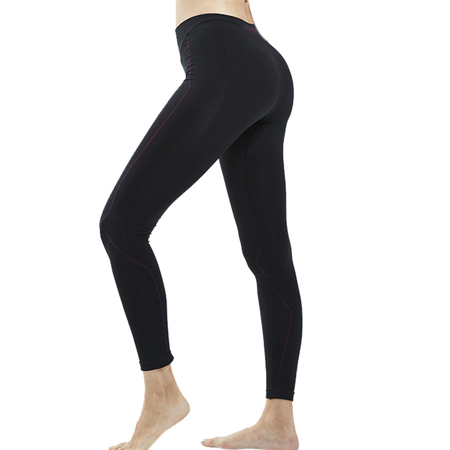 Souke Sports Women's Leggings Compression Pants for Yoga Running Gym & Everyday Fitness-Black
