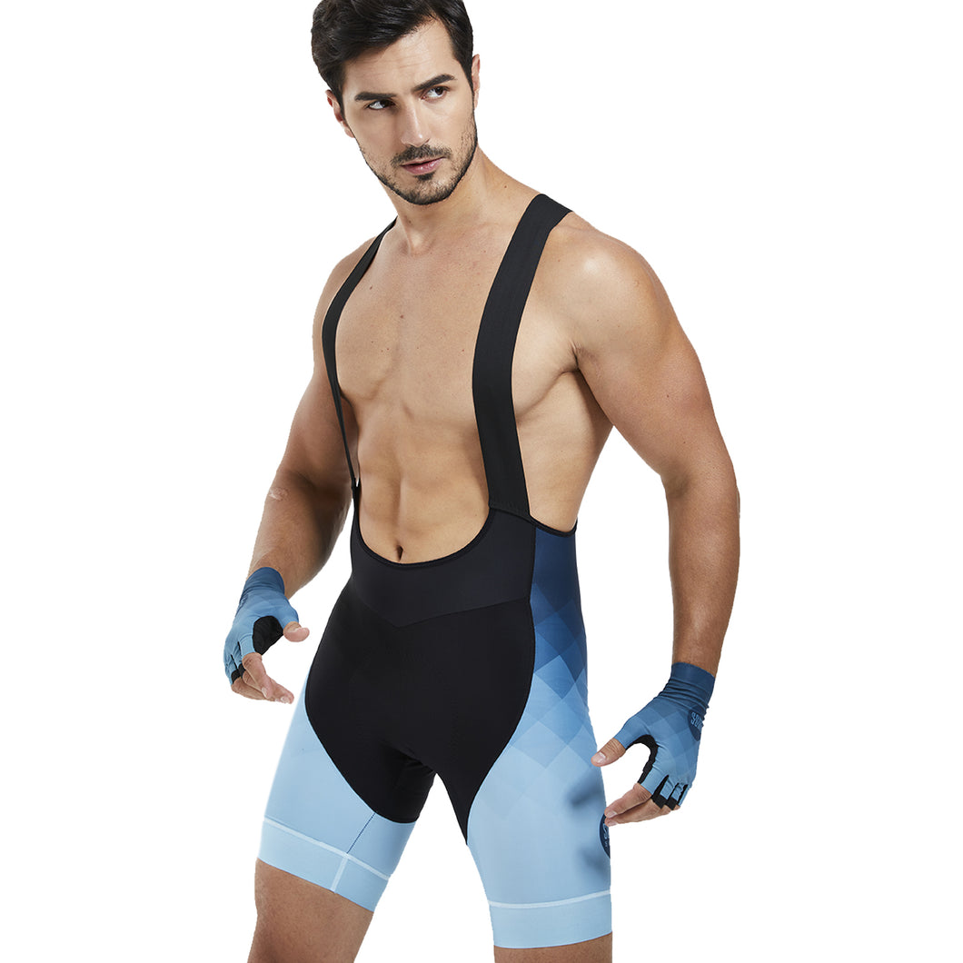 Souke sports Men'S 4D Padded Pro Cycling Bib Shorts