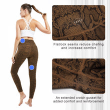 Load image into Gallery viewer, Souke Sports Women's  Breathable High Ductility High Waist Yoga Pants-Python print
