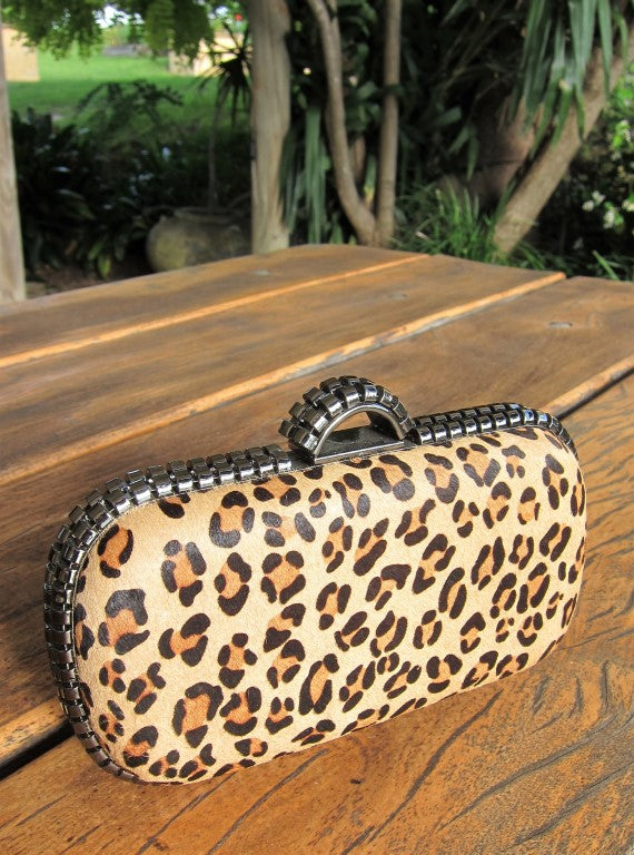 ponyskin, Leopard Print, Evening bags, fahsion accessories, Ladies wear, womens fashion, conti moda, tempt me fashion