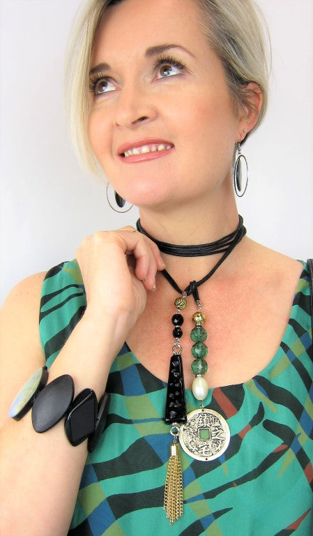 italian designed, italian componentry, made in australia, unique style, one of a kind, necklace, jewellery, accessories